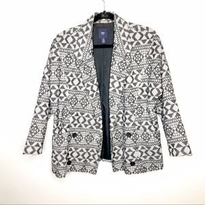 Gap Double BreastedOversized Blazer jacket sz XS